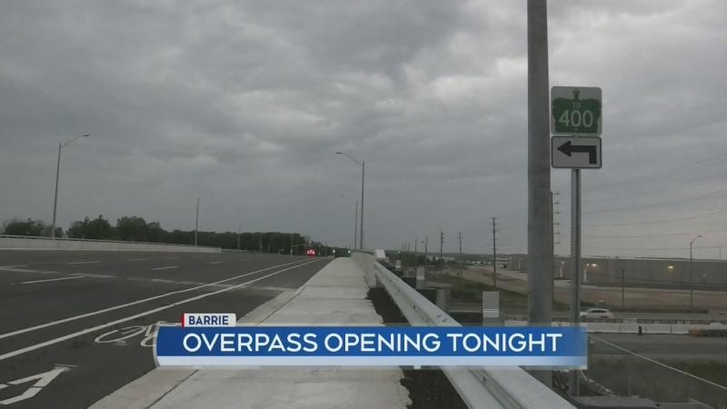 Harvie Road overpass opens