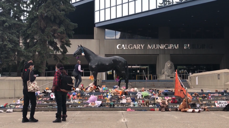Calgary, city hall, residential, schools, memorial