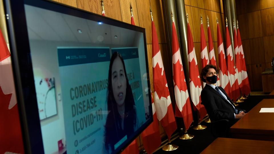 Justin Trudeau, Theresa Tam