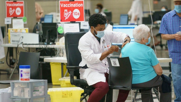 Total COVID-19 vaccine deliveries to top 50 million doses by week's end