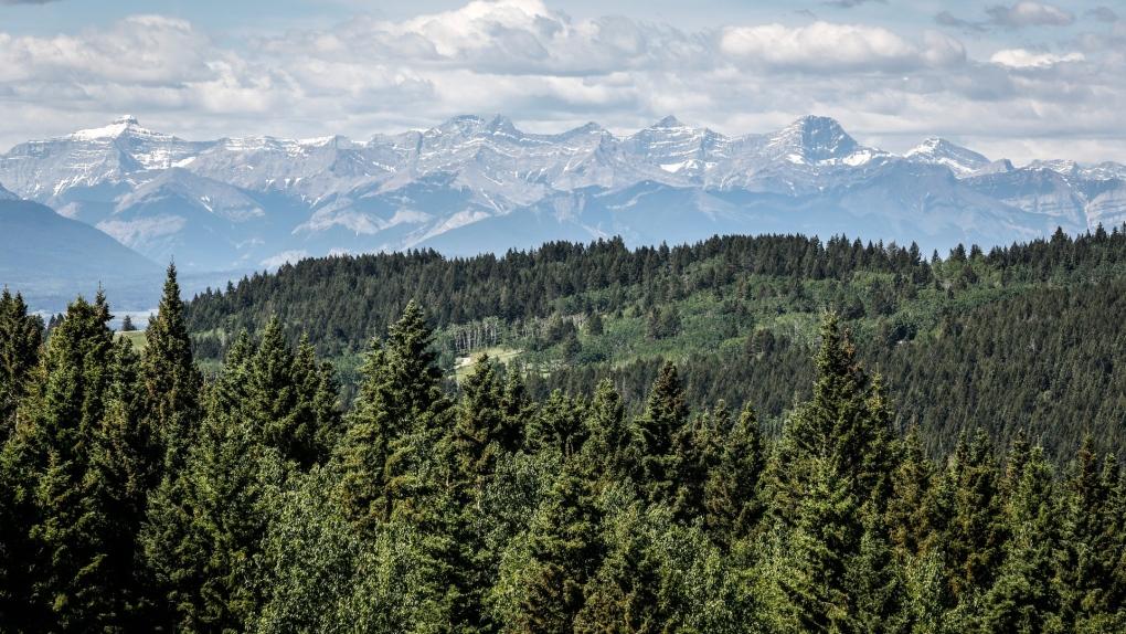 eastern slopes, Alberta, Rockies,