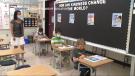 Calgary Board of Education classroom. (file)