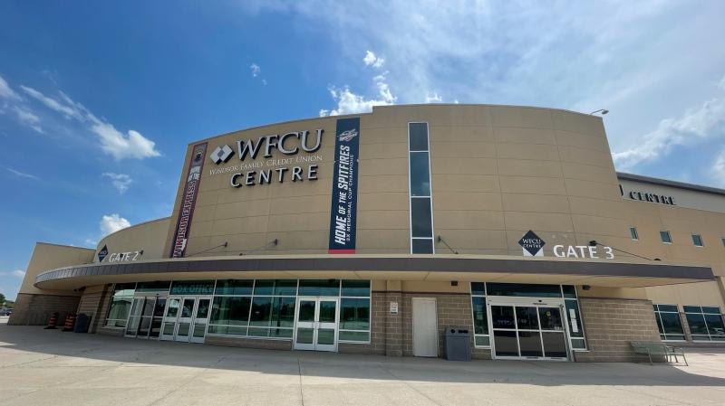WFCU Centre in Windsor, Ont., on Tuesday, June 29, 2021. (Melanie Borrelli / CTV Windsor)