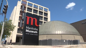 In addition to free admission and added programming, the Manitoba Museum will be lit up in orange on Sept. 30. (File Image)