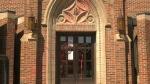 Sacred Heart Church on 14th Street S.W. in Calgary, July 1, 2021