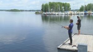 Fishing in Northern Ontario