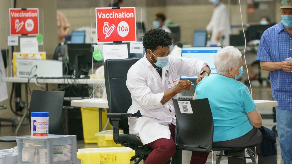 Vaccination in Montreal