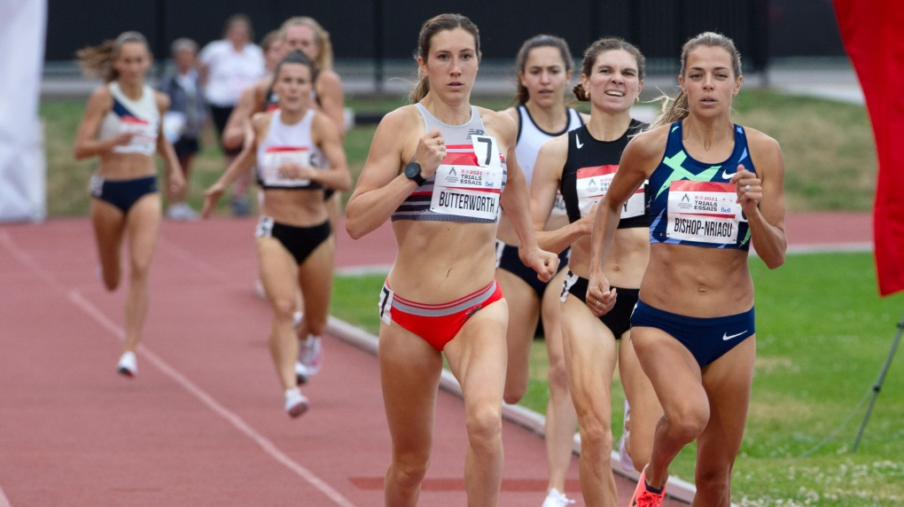Canadian track and field