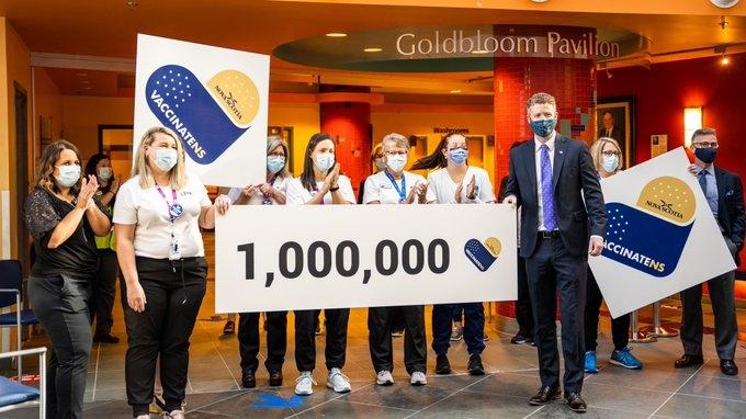 1,000,000 vaccine