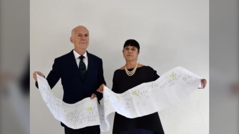 Alessandro Vezzosi and Agnese Sabato