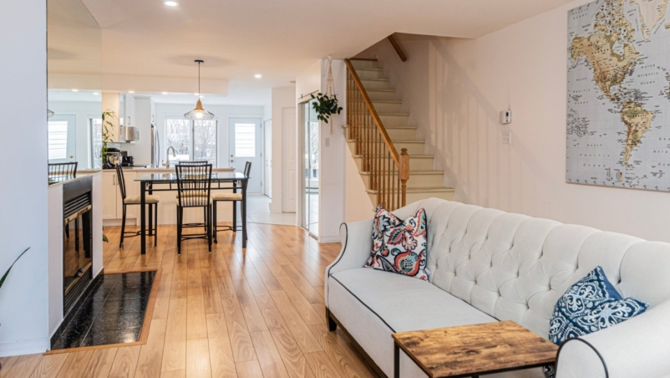 A home for sale in Montreal