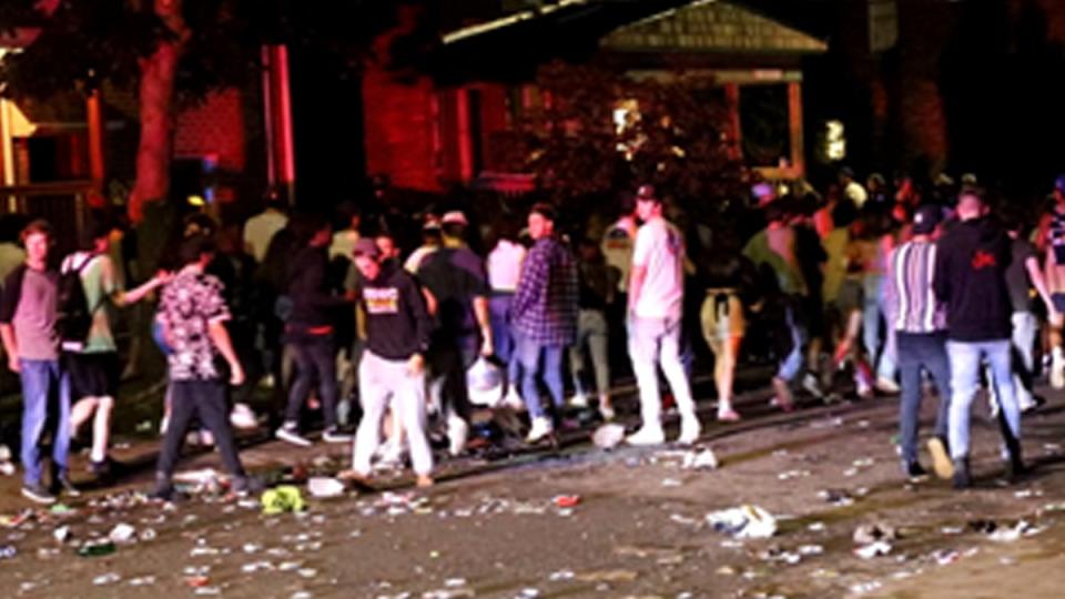 Kingston party July 2021
