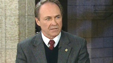 Pat Martin, NDP MP for Winnipeg Centre, appears on 'Power Play with Tom Clark' in Ottawa, Monday, Nov. 16, 2009.