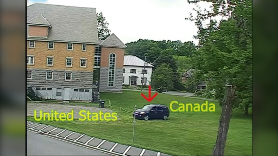 illegal entry at vermont border