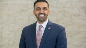 Former Ward 5 councillor George Chahal won the federal riding of Calgary Skyview Monday night, defeating Conservative Jag Sahota