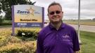 Zorra Township Mayor Marcus Ryan is seen in Ingersoll, Ont. on Friday, July 9, 2021. (Sean Irvine / CTV News)