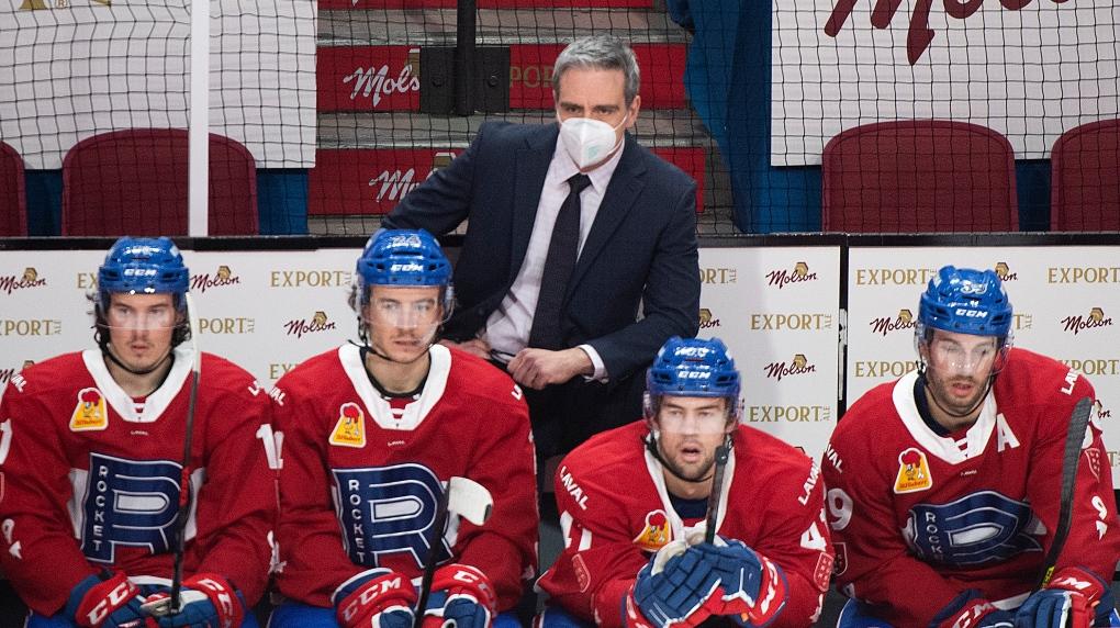 Laval Rocket head coach Joel Bouchard