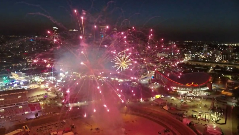 Extended: 2021 Bell Fireworks Spectacular