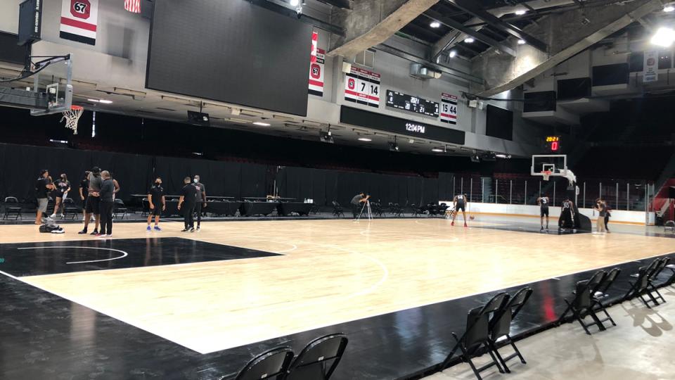 Ottawa BlackJacks Arena at TD Place basketball