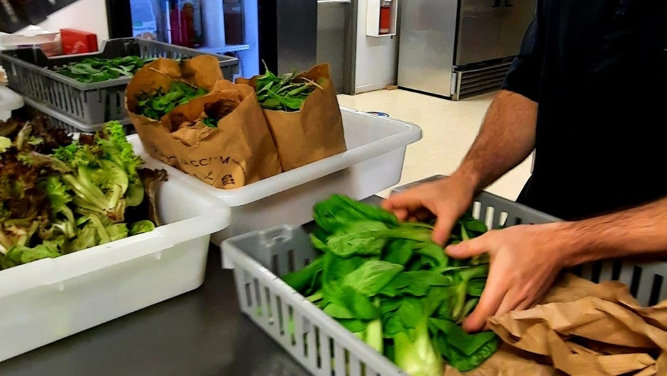 Local food for those in need
