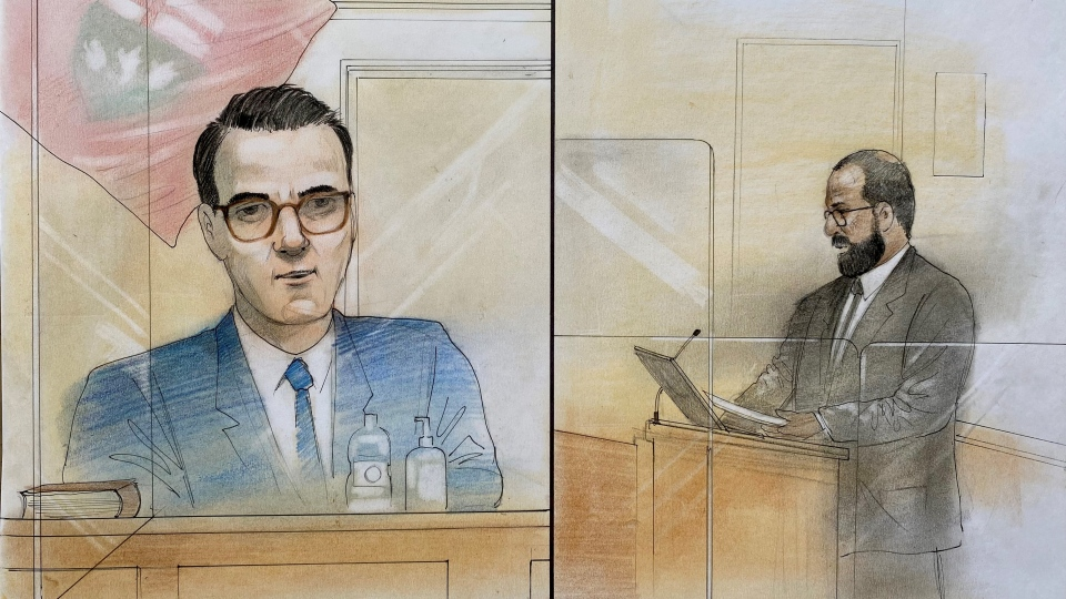 Trevor O'Leary testifies in mother's trail
