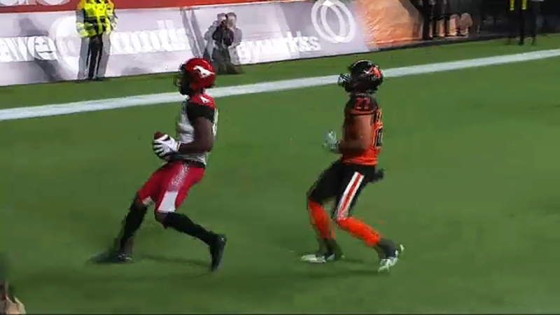 2019 first round draft pick Hergy Mayala is one the young Stamps receivers the team is counting on in 2021