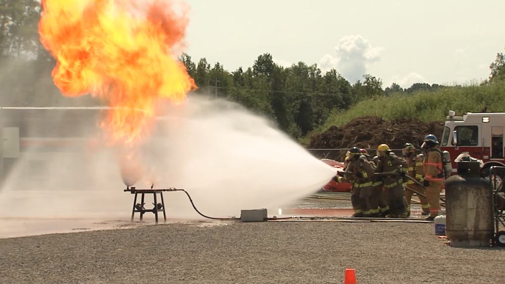 Terrace Propane Fire Training