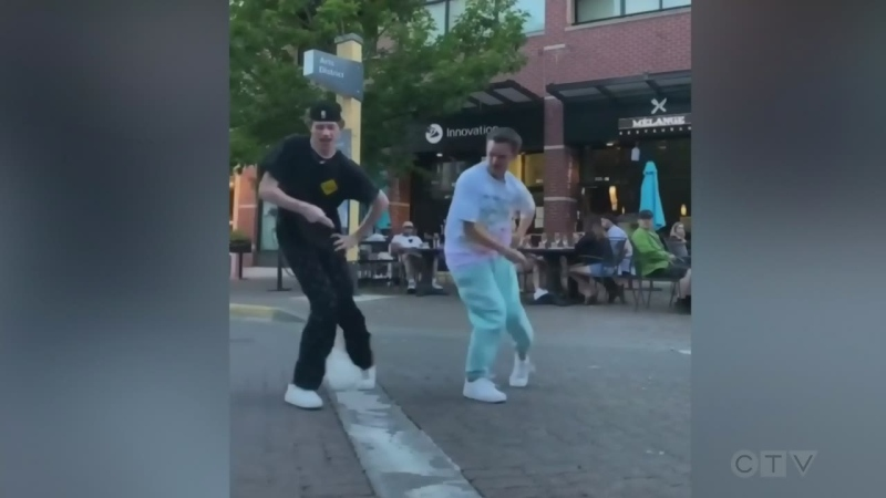 Adam finds out the story behind a pair of Nanaimo teens producing viral dance videos.