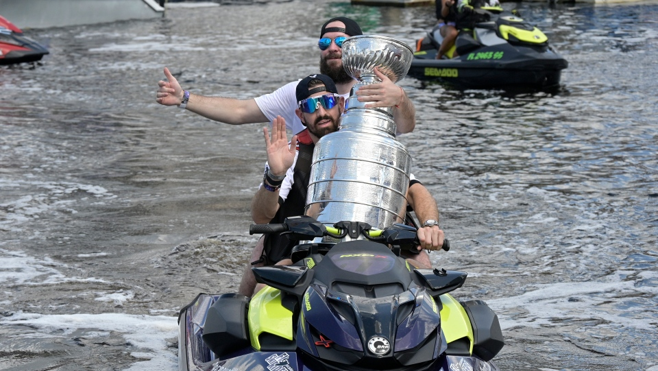 Stanley Cup champions' Boat Parade