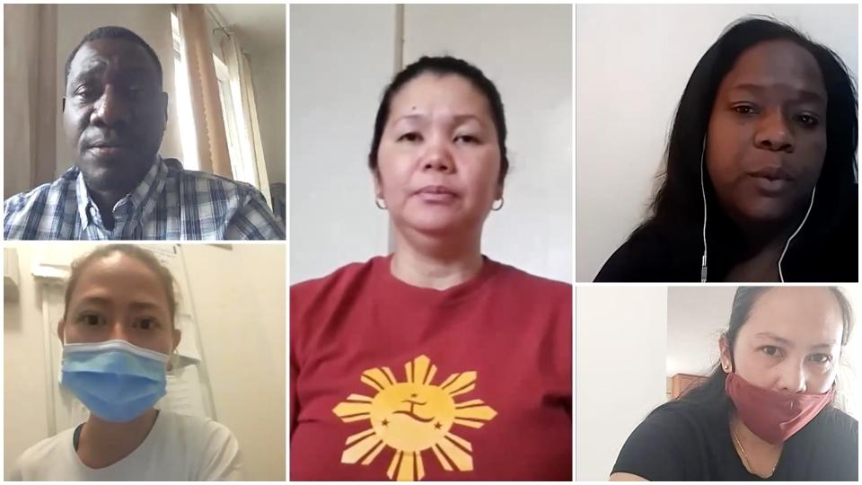 Undocumented workers, migrants in Canada
