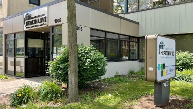 The Windsor-Essex County Health Unit on July 2, 2021. (Melanie Borrelli / CTV Windsor)