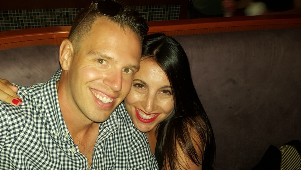Eric Seed and his wife were forced to cancel their honeymoon trip to Barbados after learning their mixed vaccine regimen was not recognized in the country. (Supplied)