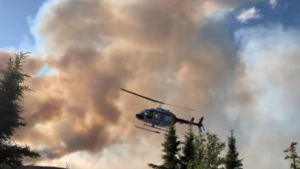 Northern Saskatchewan Wildfire