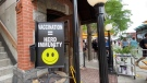 Restaurants rejoice as indoor dining resumes Friday, when Ontario moves into Step 3 of its reopening plan. Ottawa, On. July 15, 2020. (Tyler Fleming / CTV News)
