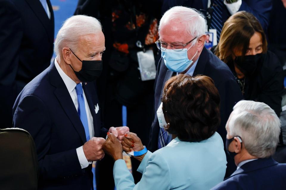 Biden, Sanders
