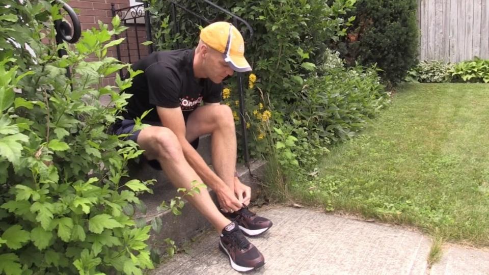 David Martin waterloo running