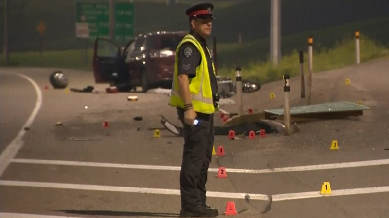 Calgary motorcyclist dies in collision