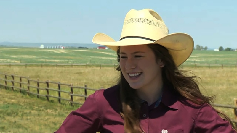 Kashy Borsy is a rodeo rider on the rise and she's our Athlete of the Week