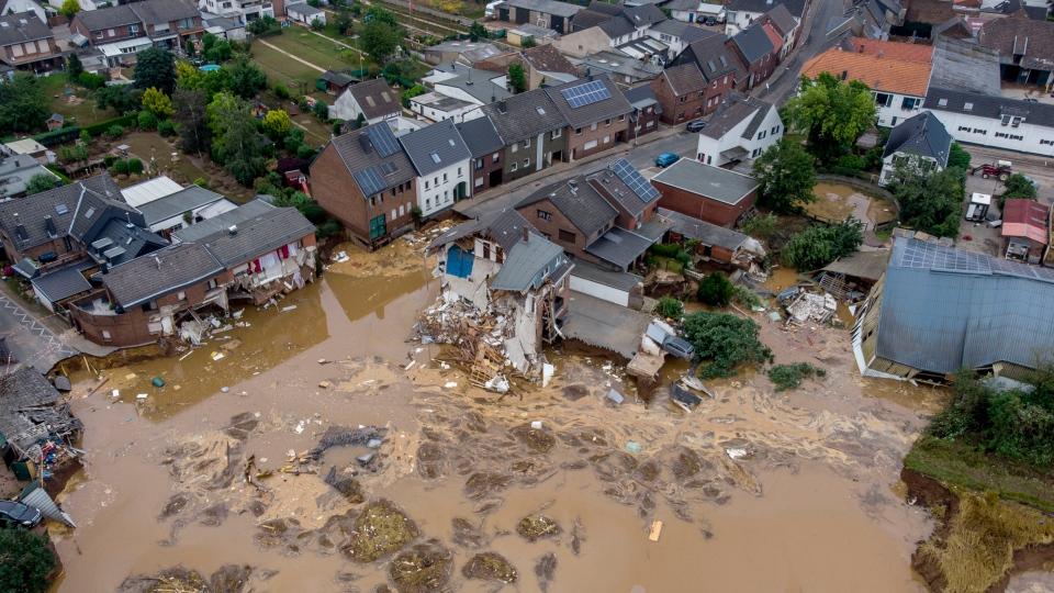 Flooding in Erftstadt-Blessem, Germany