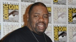 """FILE - Biz Markie attends the 20th Century Fox press line on Day 2 of Comic-Con International on July 25, 2014, in San Diego. The hip-hop staple known for his beatboxing prowess, turntable mastery and the 1989 classic """"Just a Friend,"""" has died. He was 57. Markie's representative, Jenni Izumi, said in a statement that the rapper-DJ died peacefully Friday, July 16, 2021, with his wife by his side. No cause of death was released. (Photo by Richard Shotwell/Invision/AP, File)"""