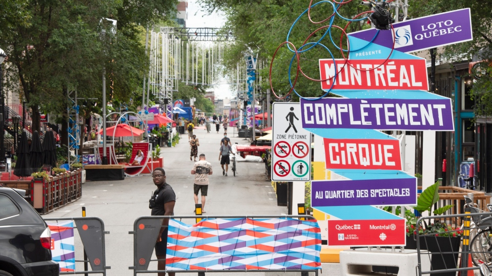 Festivals are back in Montreal