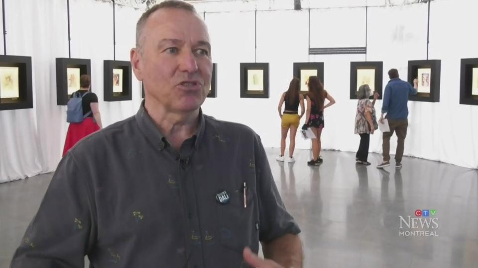 Dante, Dali meet in new art exhibit