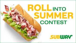 Subway Roll Into Summer Contest Header