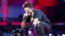 Kris Wu performs at the iHeartRadio MMVAs in Toronto on Sunday, Aug. 26, 2018. THE CANADIAN PRESS/Christopher Katsarov