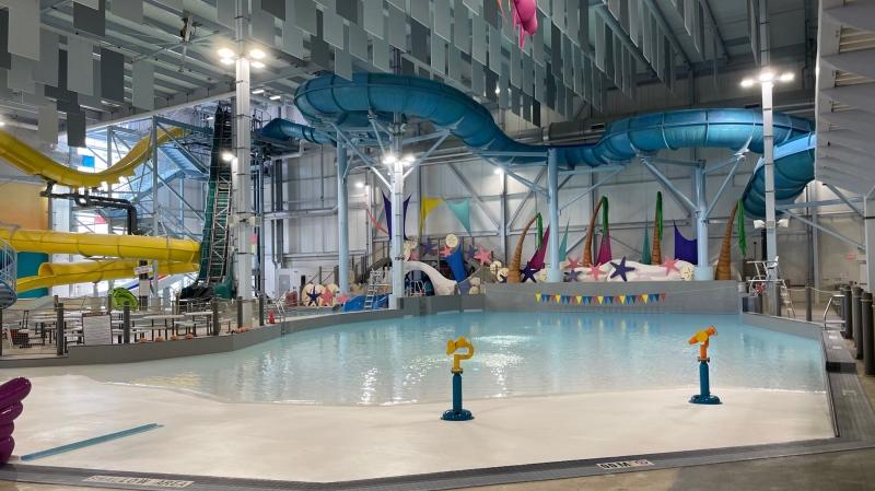 Adventure Bay Waterpark in Windsor, Ont., on Monday, July 19, 2021. (Melanie Borrelli / CTV Windsor)