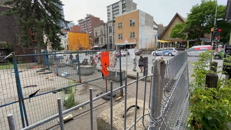 Homeless advocates say fence presents a danger