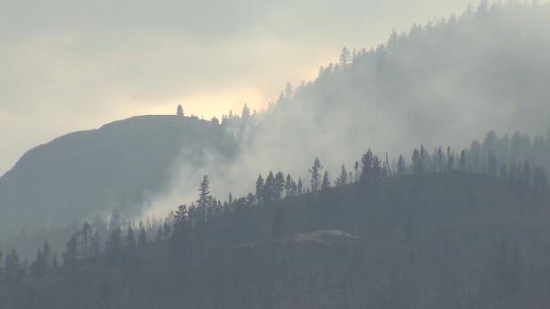 B.C. wildfires: number of active fires rises, but cooler temperatures ahead