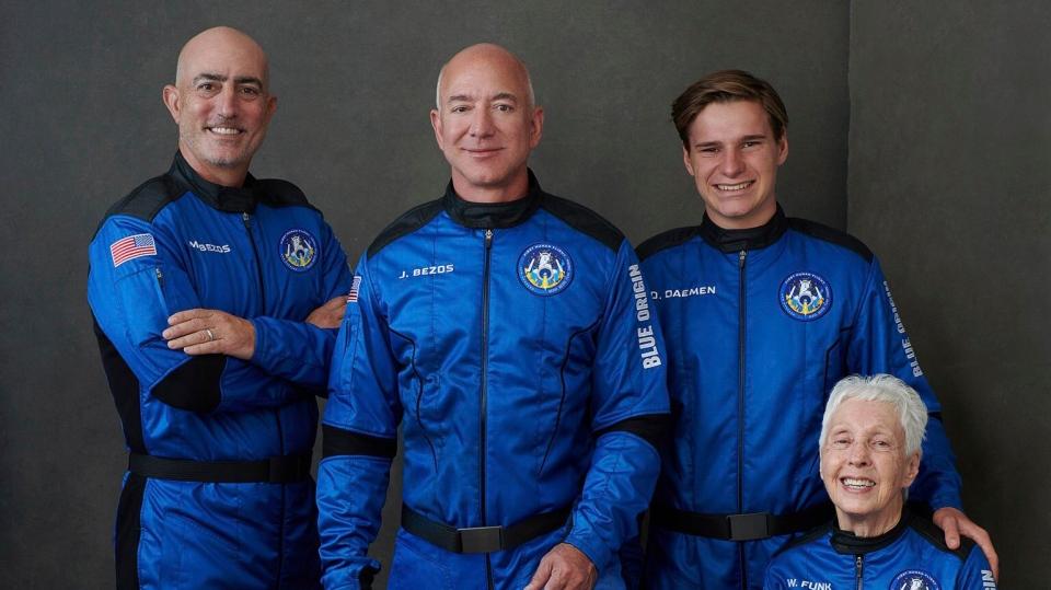Jeff Bezos flight