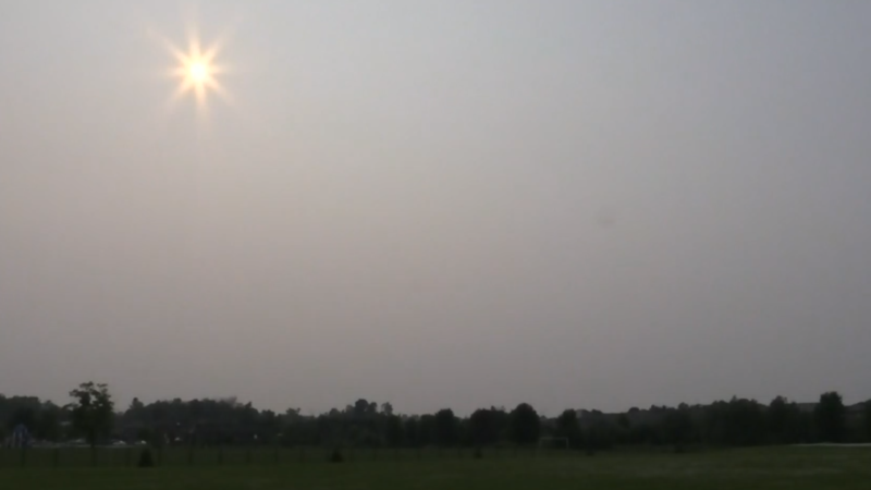 A special weather statement is in effect on Sun., July 25, 2021 due to a potential for poor air quality as smoke from forest fires in northwestern Ontario moves across the province. (File Photo/Dave Sullivan/ CTV)