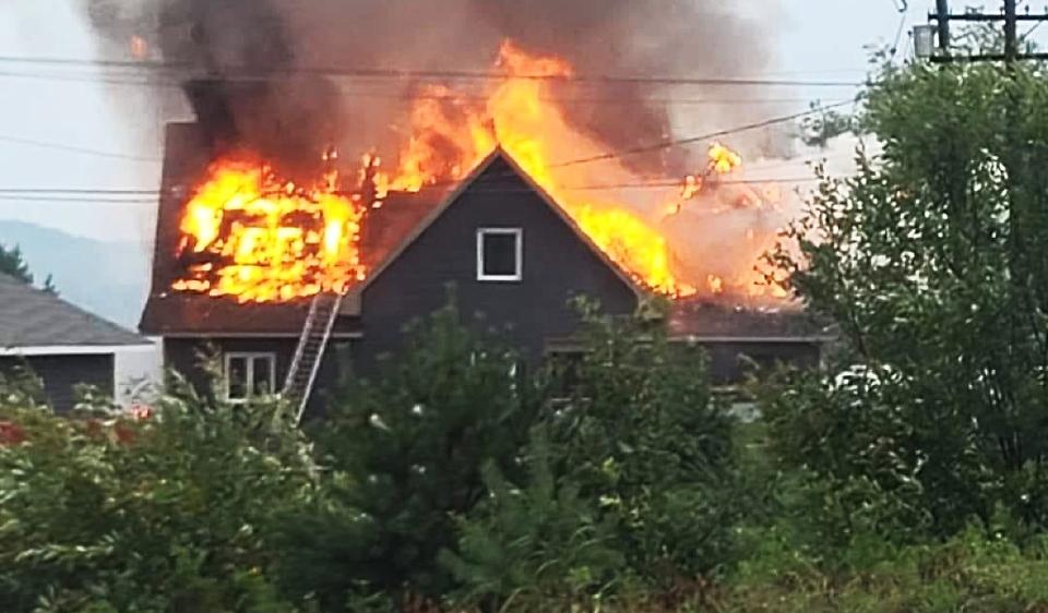 Bonfield fire